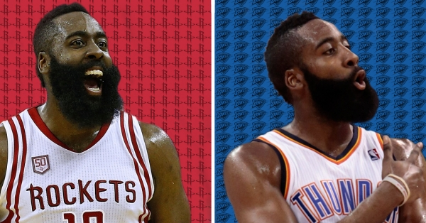 James Harden Says 2017 Rockets Are 'Similar' to 2012 Thunder