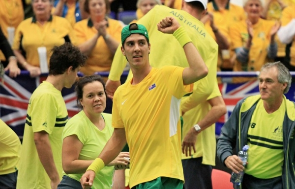 Davis Cup: Kokkinakis joins Kyrgios, Thompson, Peers for semifinal