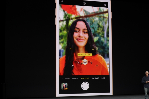 Apple's iPhone 8 Portrait Lighting lets mobile photographers mimic studio effects