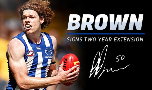Brown extends contract