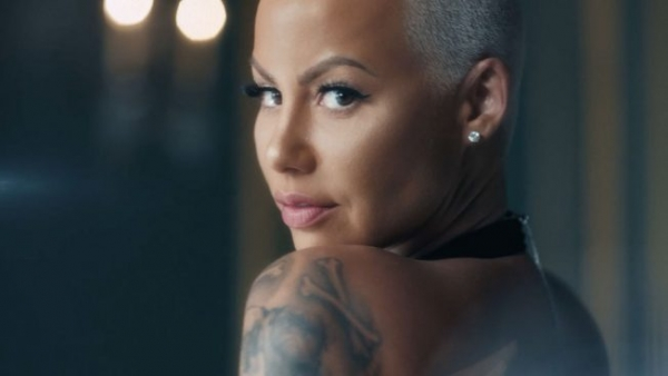 Amber Rose Positions Periods as a Luxury in This Ad Protesting the 'Tampon Tax'