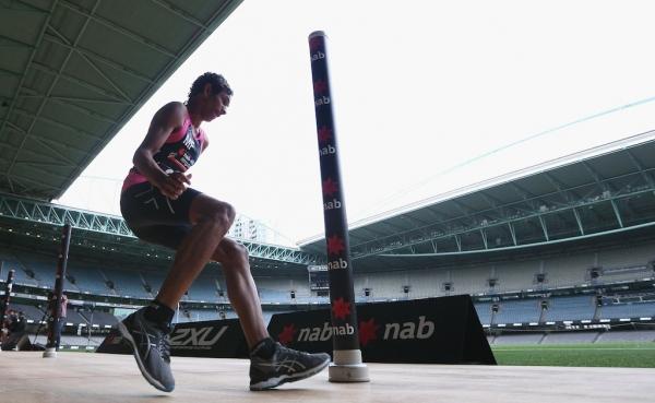 Life-changing meeting with Lance Franklin inspires AFL draft hopeful Adam Sambono
