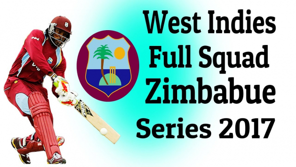 WEST INDIES TEST SQUAD ANNOUNCED FOR ZIMBABWE TOUR