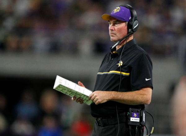 Zimmer, Vikings send thriving defense at Rodgers, Packers