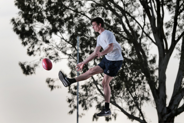 AFL draft 2017: Meet Sam Taylor, the country kid who will turn into a 'monster'