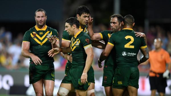 Australian Kangaroos Squad to Face Fiji
