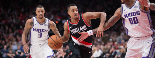 Trail Blazers Finish Easly Season Home Stretch By Beating Kings