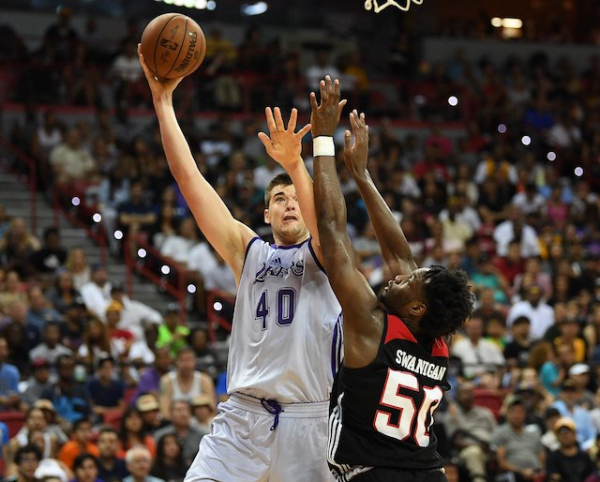 Lakers Video: Ivica Zubac Lights Up Austin Spurs While On G League Assignment In South Bay