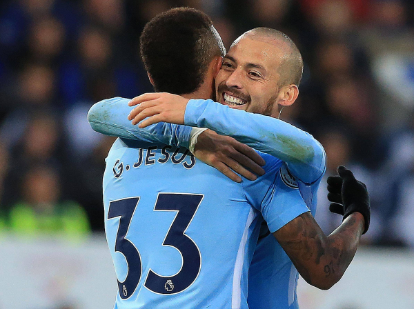 The Manchester City machine rolls on as they overcome defensive crisis to down Leicester