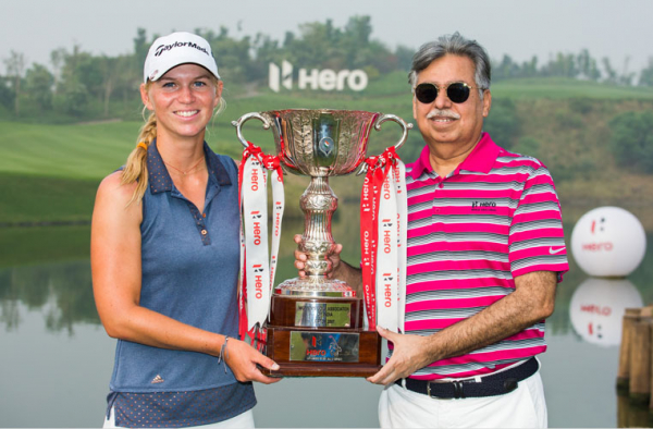 Camille Chevalier wins the Hero Women's Indian Open