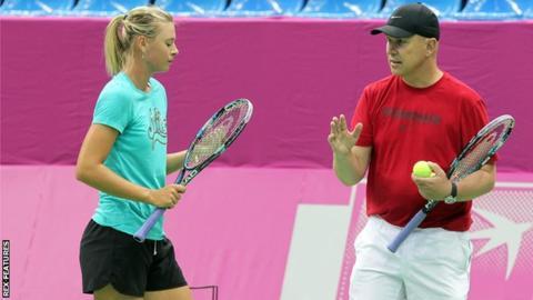 Johanna Konta 'close' to a deal with Maria Sharapova's former coach