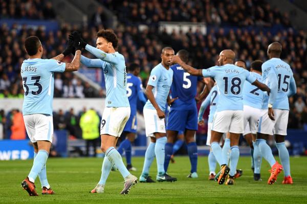 Leicester City 0 Manchester City 2: Gabriel Jesus and Kevin De Bruyne strike for Premier League leaders