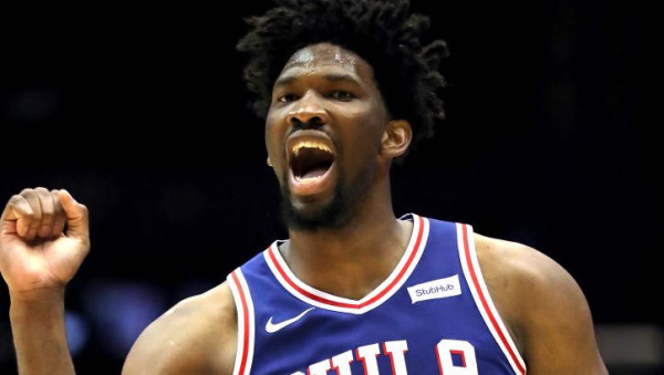 The Warriors really had an eye on Joel Embiid's trash talking (VIDEO)