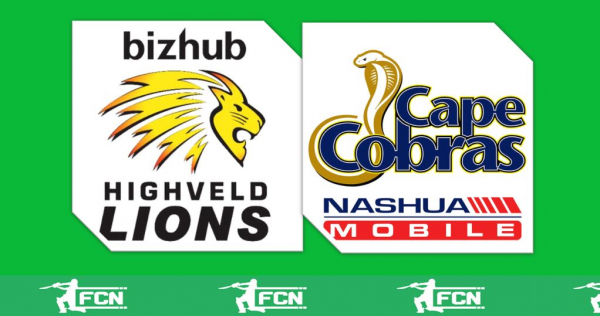 Ram Slam T20 Match 7 – Lions V Cape Cobras – Fantasy Preview