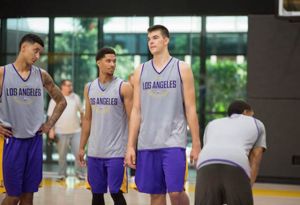 Lakers Recall Ivica Zubac, Josh Hart From G League Ahead Of Game Against Nuggets