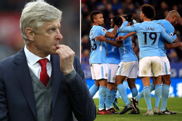 """Arsenal's Arsene Wenger admits Manchester City """"are on another planet"""" to the other title hopefuls"""