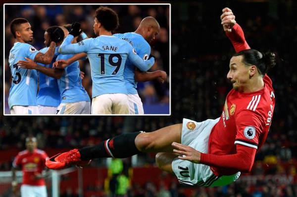 Manchester United's Zlatan Ibrahimovic has a new mission after speedy injury return — catching leaders Man City