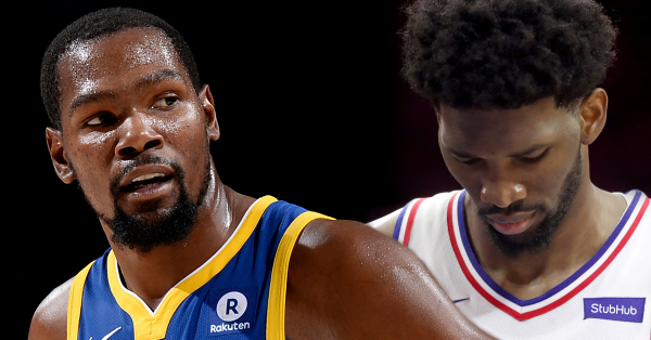 Kevin Durant: Joel Embiid Would 'Start Talkin' S–t' If Sixers Beat Warriors