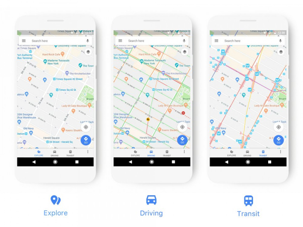 Google Maps Updated with New Design for the First Time in Years