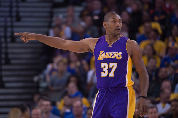 Lakers News: Metta World Peace Confidently States He Can Average 15 Points In Today's NBA