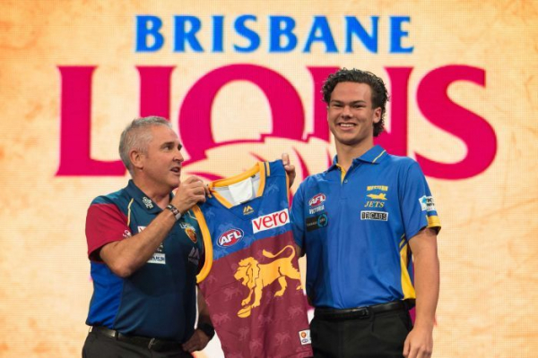 Lions take Rayner with number one AFL pick