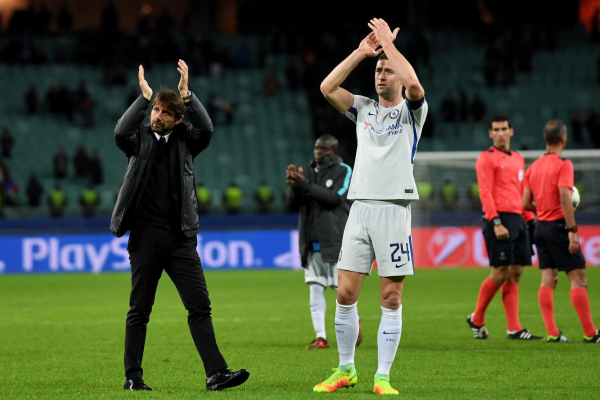 Antonio Conte says every Chelsea player rose to the challenge after making wholesale changes in Baku