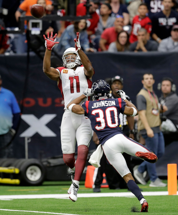 Foreman has 2 TDs to help Texans to 31-21 win over Cardinals