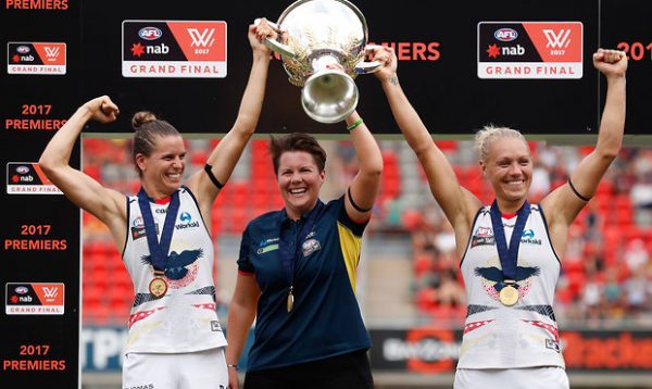 AFLW inspires record numbers