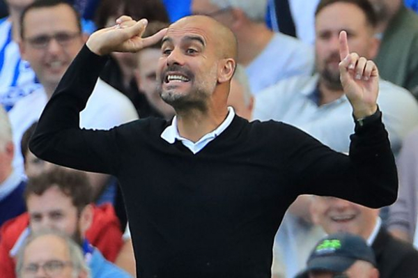 """Manchester City's Pep Guardiola quips he will """"kill"""" any players who let these table-topping standards drop"""