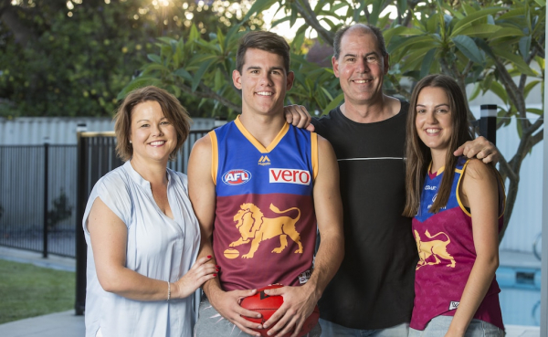 AFL draft 2017: Starry-eyed East Perth draftee Brandon Starcevich ready for lift-off at Brisbane Lions