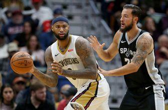 Davis, Cousins, power Pelicans' 107-90 rout of Spurs