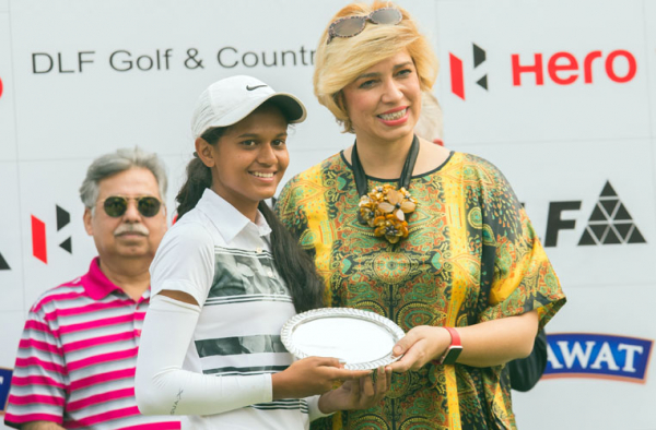 Pranavi Urs: Flag hunting her way to low amateur