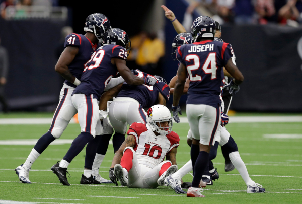 Receivers struggle as Cardinals lose to Texans 31-21