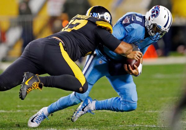 Roethlisberger, Steelers make statement in rout of Titans