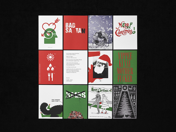 12 designers create Christmas cards raising money in memory of photographer Shaun Bloodworth