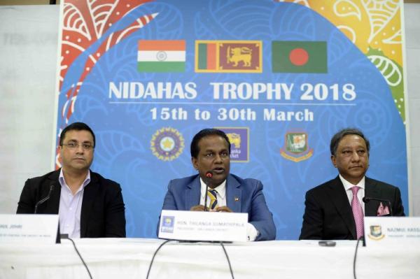 Dates for Tri-Series Involving India, Sri Lanka And Bangladesh Announced