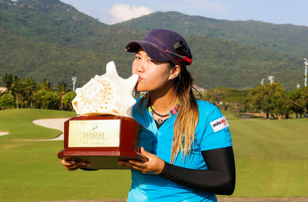 Sangchan returns to defend Sanya Ladies Open title at Yalong Bay