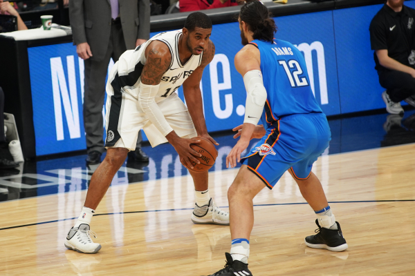 Spurs Erase 23-Point Deficit to Beat Thunder in San Antonio