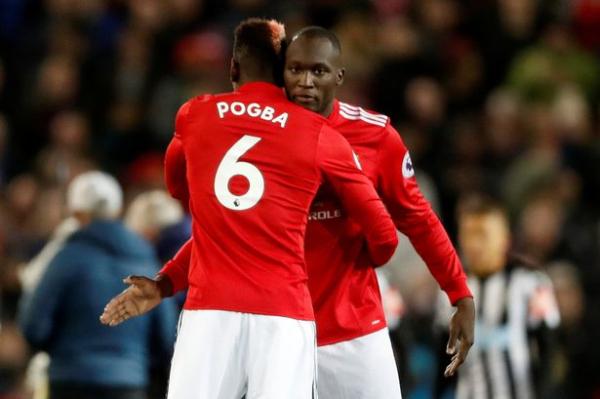 "Paul Pogba labels Manchester United team-mate Romelu Lukaku as ""best striker in the Premier League"""