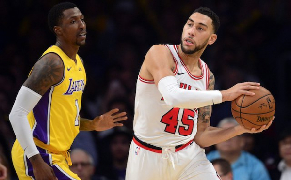 Lakers Highlights: Kentavious Caldwell-Pope, Julius Randle Lead Comeback Against Bulls