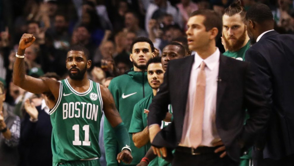 """Celtics' Kyrie Irving:  """"It was a nice streak. But it was time to come to an end."""""""