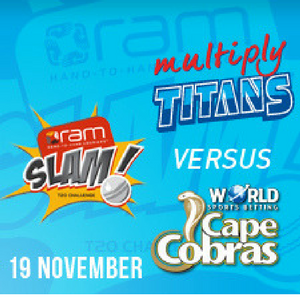 RAM SLAM T20 – TITANS VS CAPE COBRAS – FANTASY PREVIEW