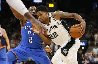 Spurs overcome 23-point deficit to beat Thunder, 104-101
