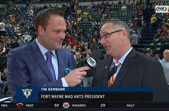 Fort Wayne Mad Ants president Tim Bawmann on growing relationship with Pacers