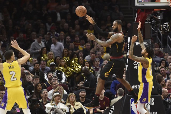 LeBron James Notches Triple-Double, Lakers End Road Trip With Loss To Cavaliers