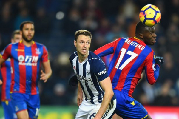 West Brom preparing for Jonny Evans transfer in January reveals Alan Pardew, with queue of clubs interested