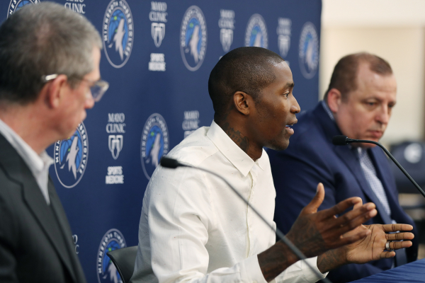 Timberwolves' Jamal Crawford was not told he would play so few minutes