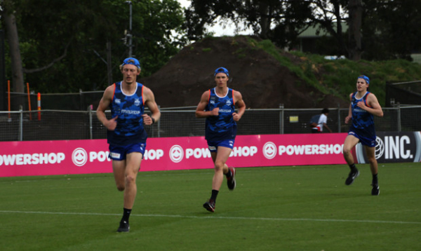 VFL side's early chance
