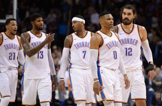 Colin Cowherd questions if it's time to break up Oklahoma City Thunders' Big 3