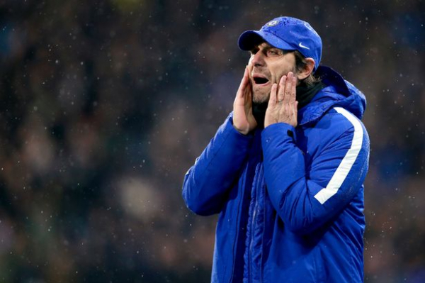 """Antonio Conte insists it would be 'bull***t"""" to suggest Chelsea can win title despite Huddersfield win"""